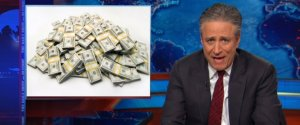 DAILY SHOW CAMPAIGN FINANCE