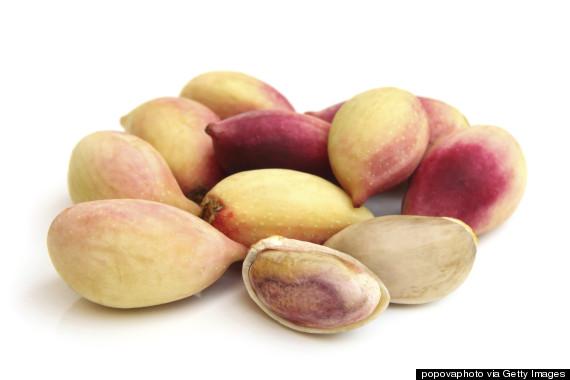 red pistachio