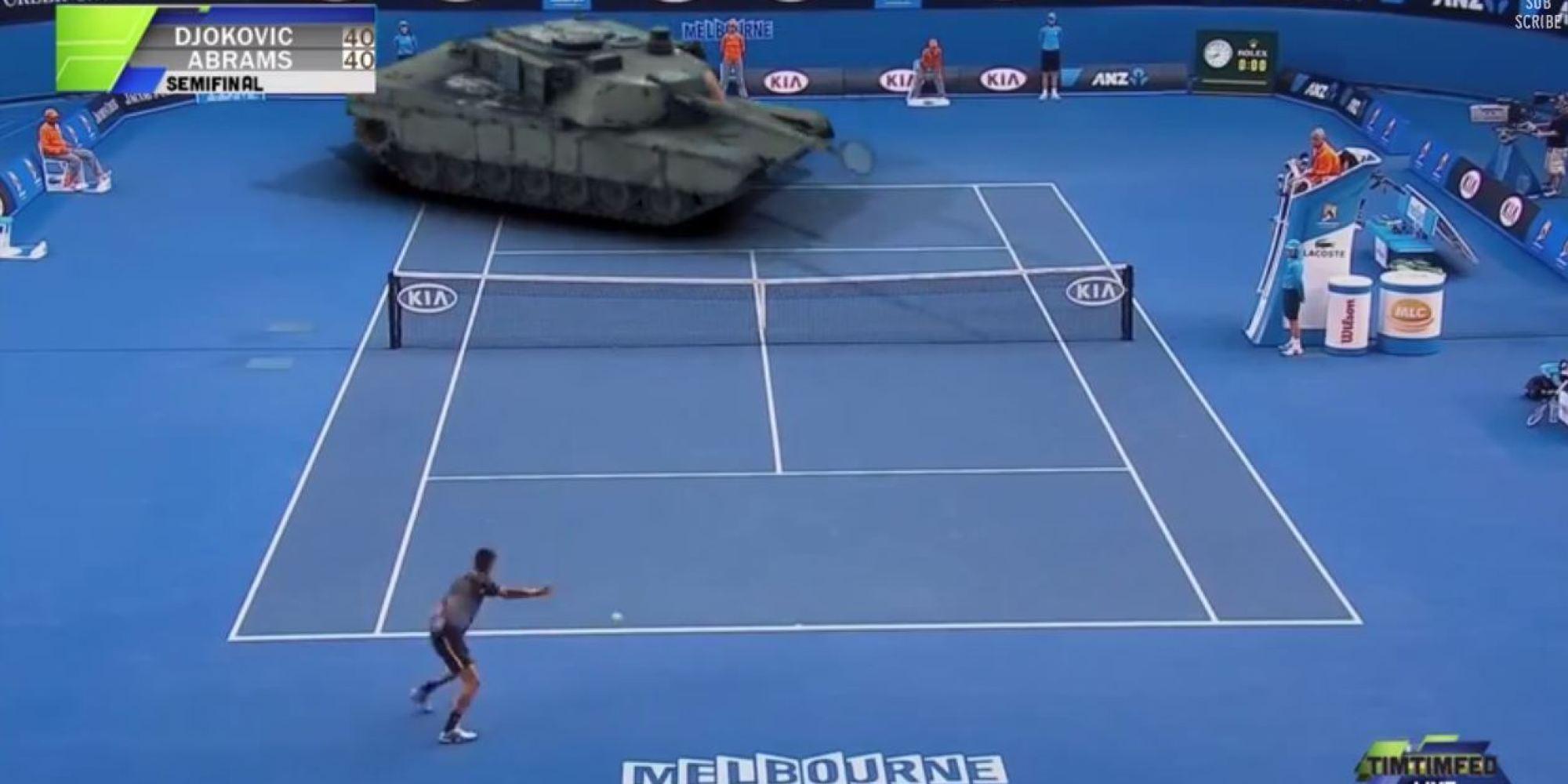 Novak Djokovic Plays A Tank In The Australian Open Semi Final