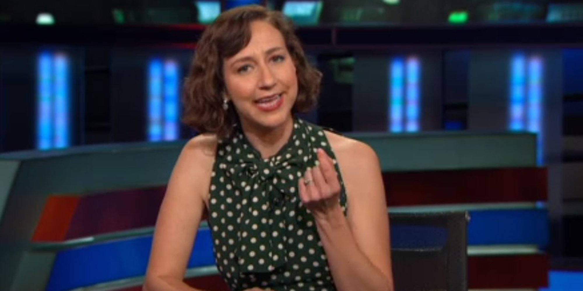 Kristen Schaal Valiantly Stands For Manspreaders On The