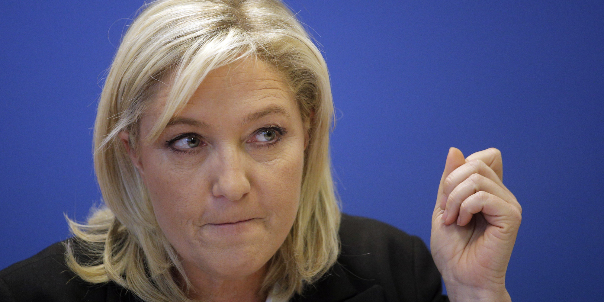 Marine Le Pen Leads French Presidential Poll