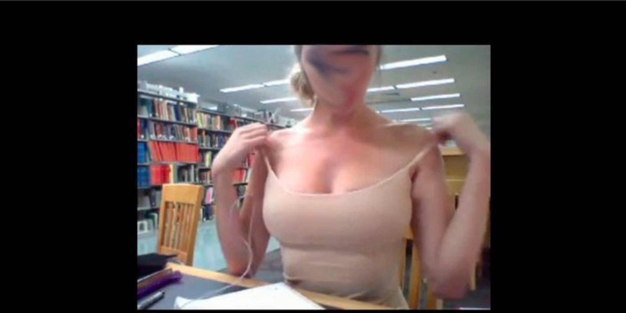 oregon state library girl video