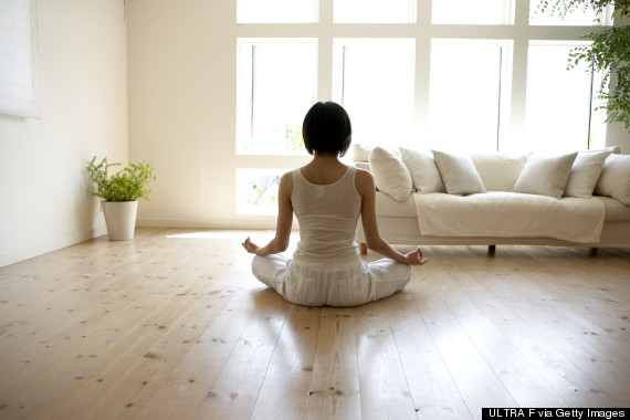 meditate at home