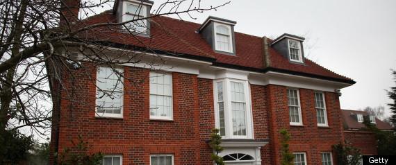 GADDAFI LONDON HOME