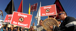 Redskins Protest