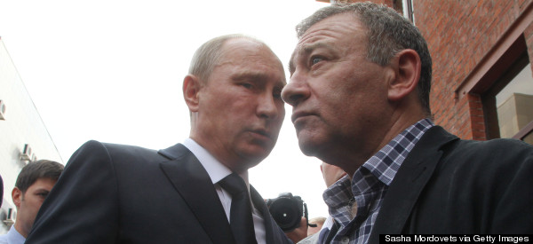 Putin's Former Judo Partner To Build Russian Bridge To Crimea