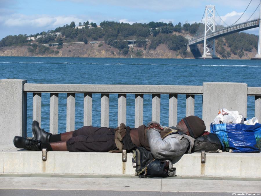 sf homeless man