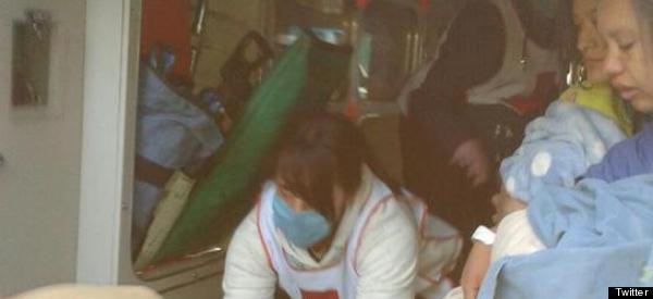 TERROR: 'MADRES HERIDAS SALÍAN CON SUS BEBÉS EN BRAZOS'