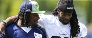 Marshawn Lynch And Richard Sherman