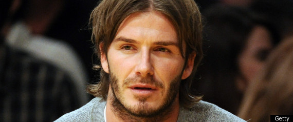 David Beckham Eyebrows