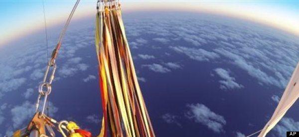Balloon Pilots Break World Record With Trip Across Ocean