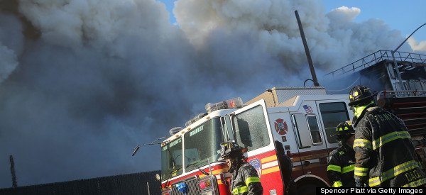 Massive Fire In Brooklyn Fought By Hundreds Of Firefighters