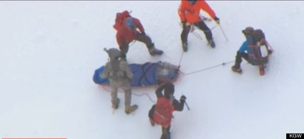 2 Injured Climbers Airlifted Off Mt. Hood, Rescue Officials Say