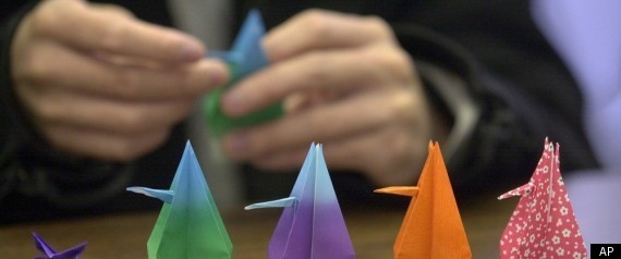 Japan Earthquake Paper Cranes