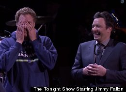 Will Ferrell, Jimmy Fallon And Kevin Hart Have A Lip Sync Battle And It's As Funny As It Sounds
