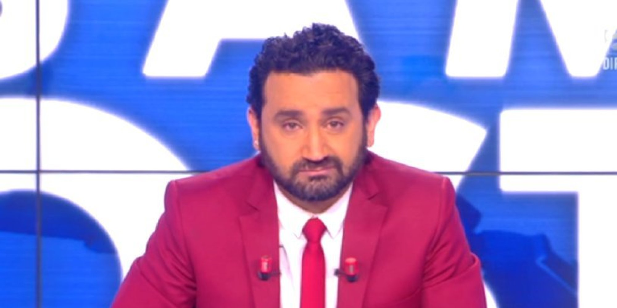 vid o tpmp cyril hanouna mu aux larmes en direct apr s le d c s de corentin piedallu. Black Bedroom Furniture Sets. Home Design Ideas