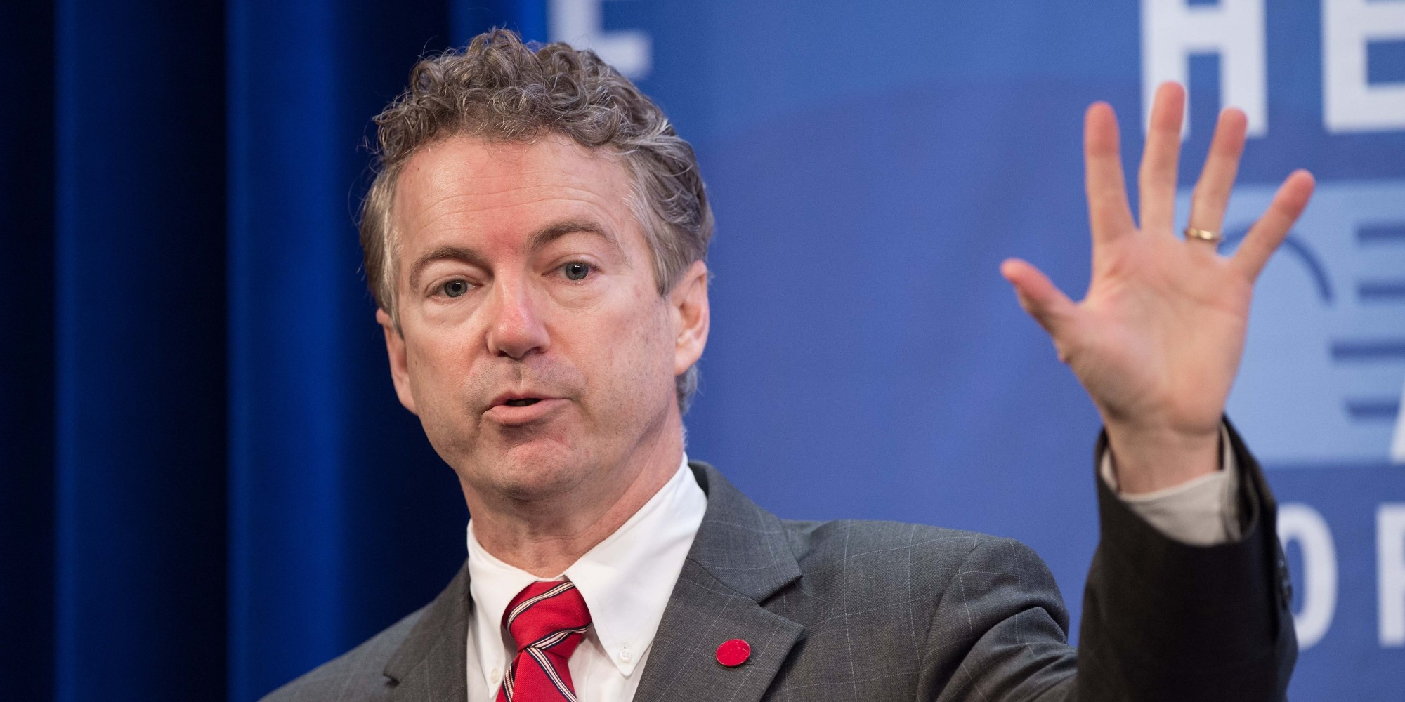 rand paul shushes a reporter asking about his corporate tax rand paul shushes a reporter asking about his corporate tax holiday the huffington post