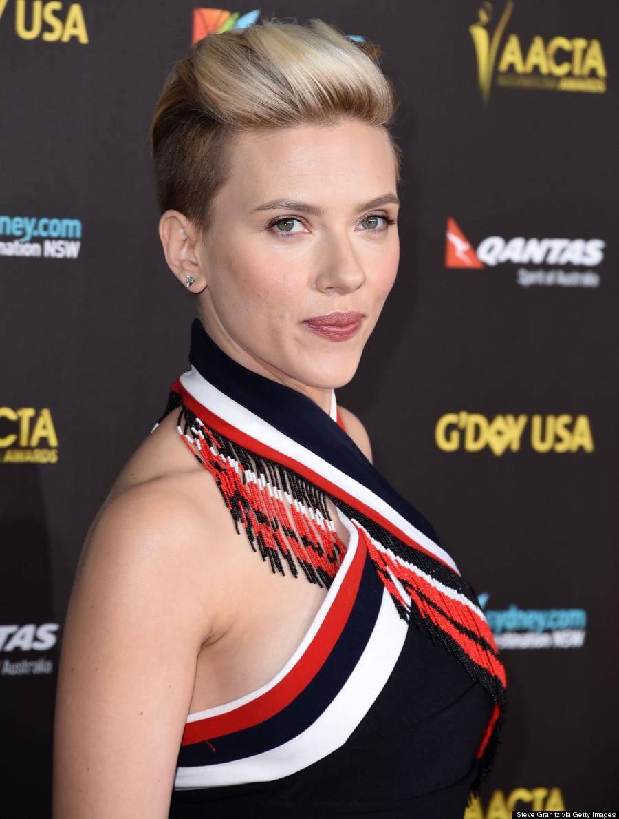 Scarlett Johansson S Razed Undercut Is Glorious
