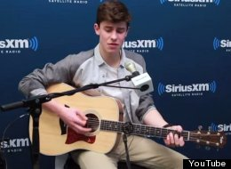 Shawn Mendes Puts Soulful Twist On Ed Sheeran's 'Thinking Out Loud'