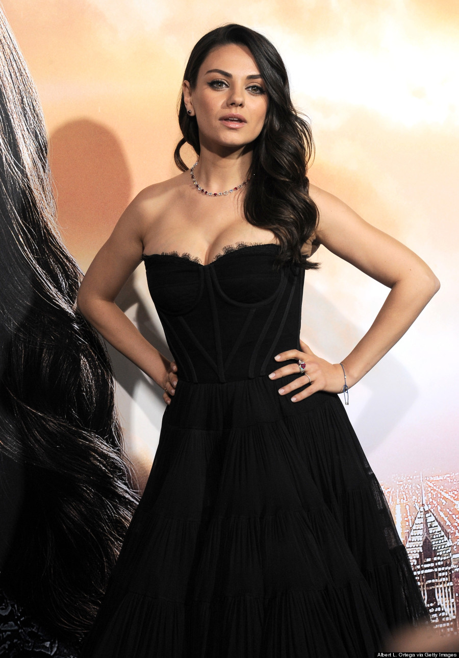 Mila Kunis Makes First Red Carpet Appearance Since Giving ... Mila Kunis