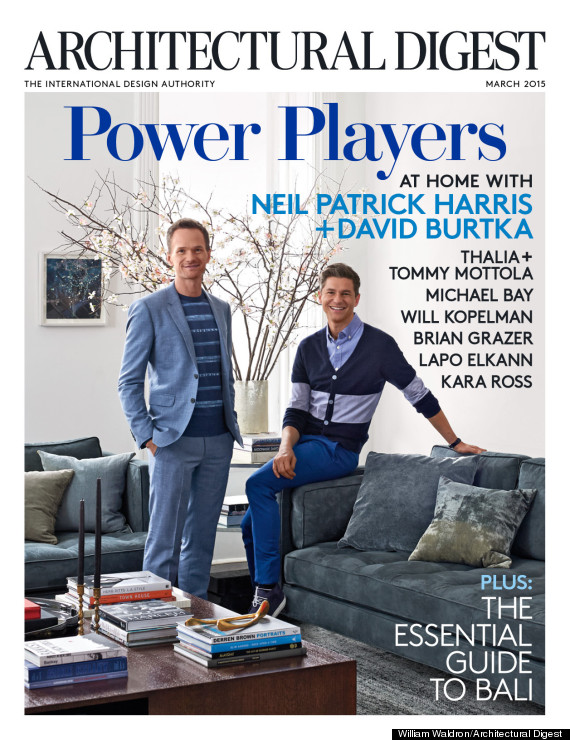 Neil Patrick Harris And David Burtka Take Architectural