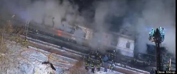 metro north fire