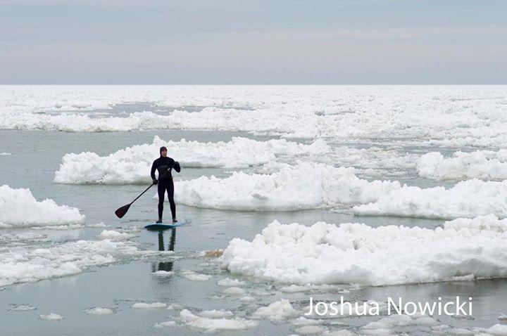 navigating ice