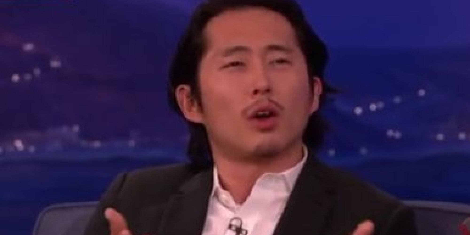 walking dead star steven yeun combats the stereotype