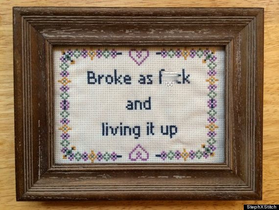 19 Hilariously NSFW Cross Stitches You Won't Find In Grandma's House