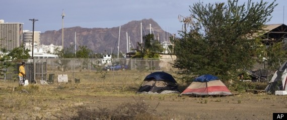 Honolulu's Homeless Once Again Lose Their Homes. Hawaii Homeless