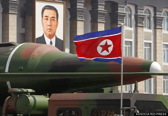 north korea nuclear missile