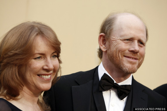 ron howard and wife