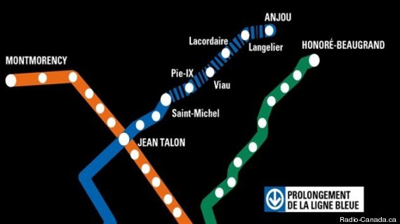 metro prolongement