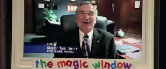 Harry Baals Fort Wayne Mayor Kimmel