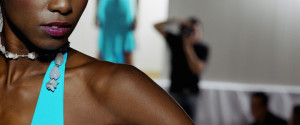 Black Fashion Model Runway