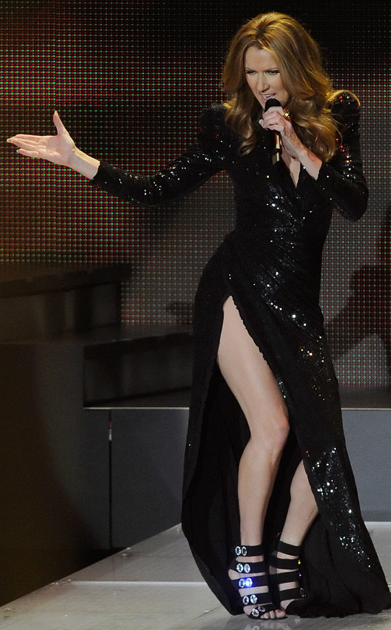 Celine Dion S Hot Post Baby Body Photos Huffpost