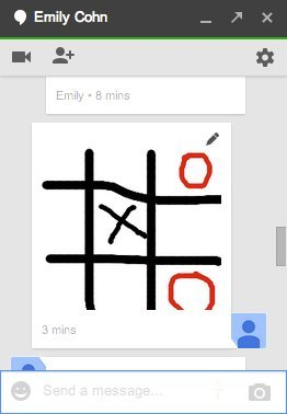 draw on google hangouts