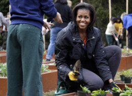 White House Garden Book Michelle Obama