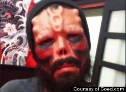 Man Goes To Extreme Lengths To Look Like Red Skull