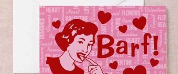 ANTI VALENTINES DAY CARDS