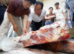 Contaminated Pork China