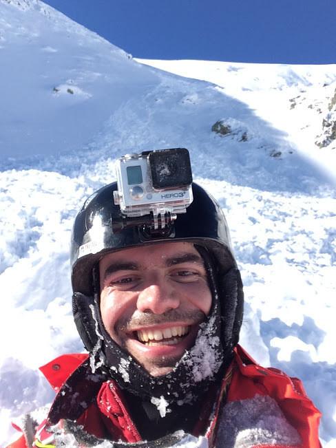 sorin radu snowboarder survives avalanche