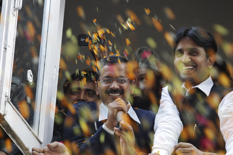 kejriwal delhi result 2013