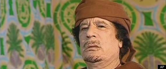 LIBYA WAR GADDAFI