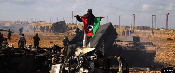LIBYA AIR STRIKES
