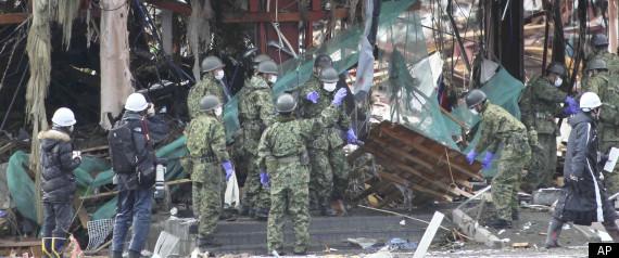 JAPAN DEATH TOLL