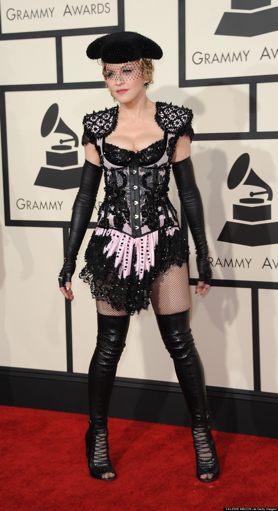 Grammys 2015: Madonna gets crowd on their feet during sizzling ...