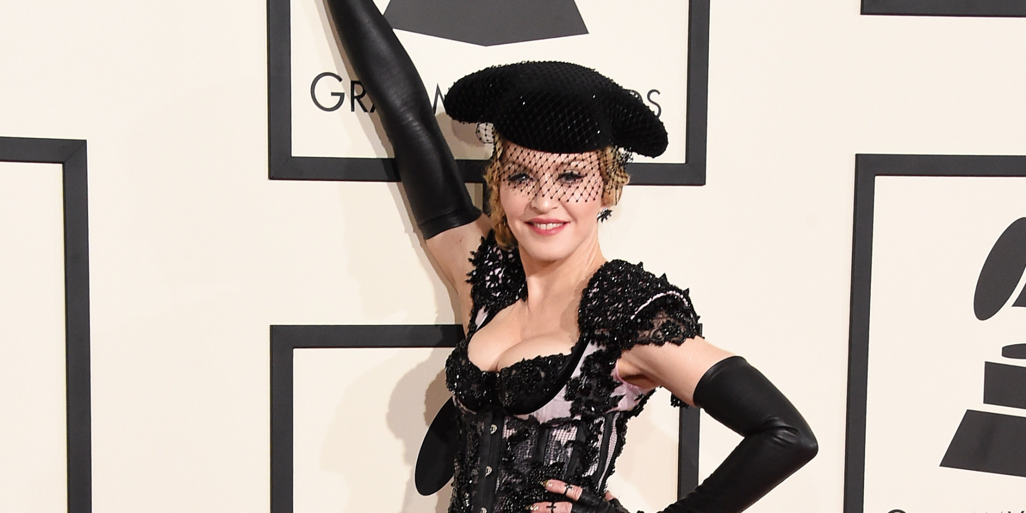 Grammys: Madonna Moons Everyone On The Red Carpet At The Grammys