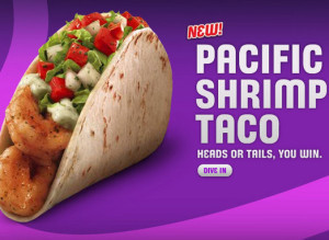 taco bell 39 s pacific shrimp taco fast food review