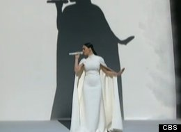 Katy Makes Bold Statement With Grammys Performance